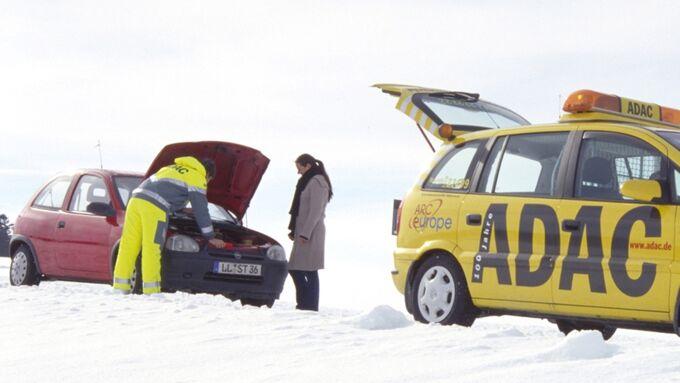 ADAC gibt Starthilfe im Winter