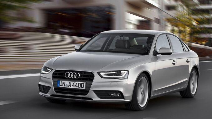 Audi A4, silber