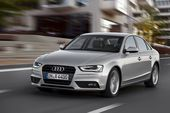 Audi A4, silber