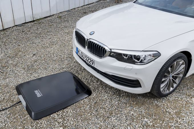 BMW induktives Laden