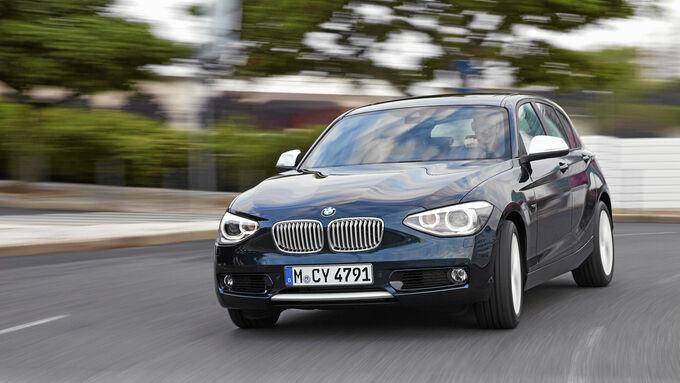 Der BMW 116d von vorne
