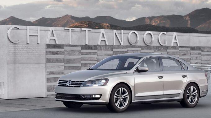 Der neue Volkswagen Passat (USA Version)