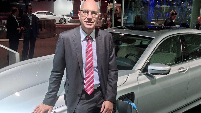 Dr. Jörg Breuer, Leiter Vertrieb an Flottenkunden