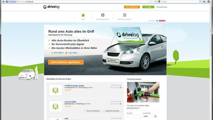 Drivelog, Bosch, Screenshot