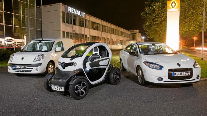 Elektromobile von Renault