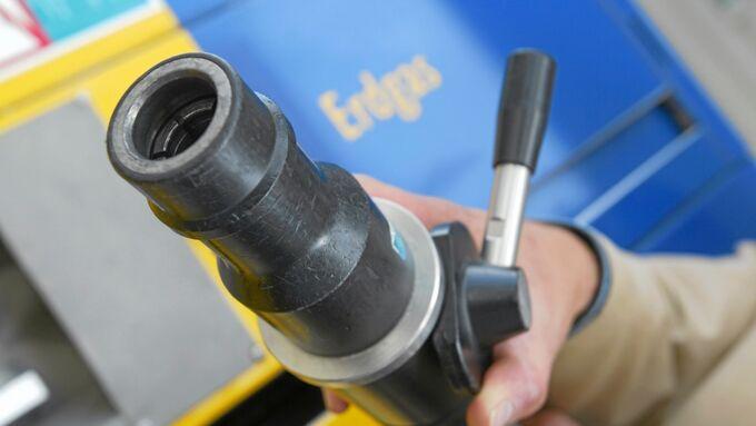 Erdgas Zapfpistole