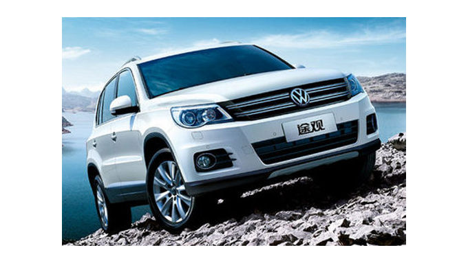 Facelift für den VW Tiguan