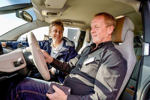 Firmenauto Test Drive