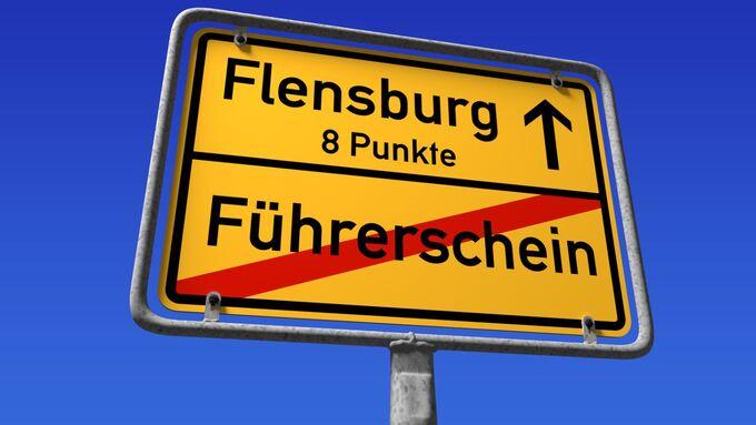 Flensburg, acht Punkte,