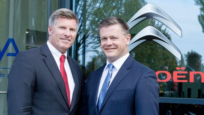 Holger Böhme und Ferry PSA Citroen Peugeot