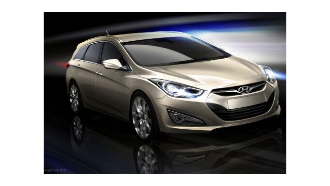 Hyundai i40 cw kommt nach Europa