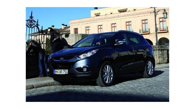 Hyundai ix35 bekommt Basismotoren mit Start-Stopp-System