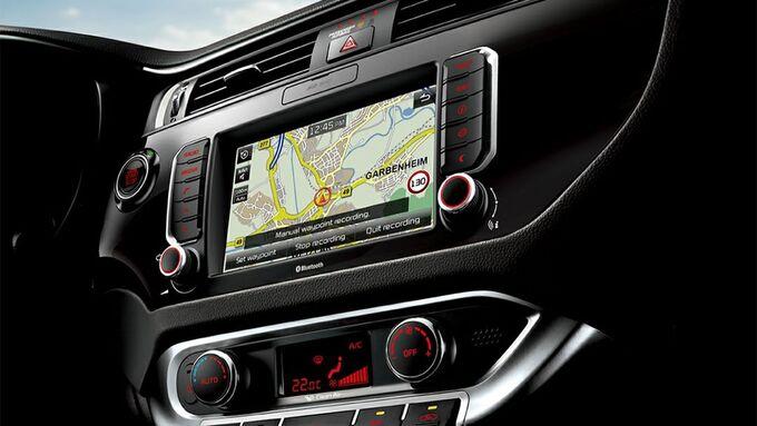Kia Hotspot App, Kia Navigationsgerät