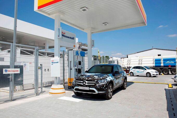 Mercedes Wasserstoff