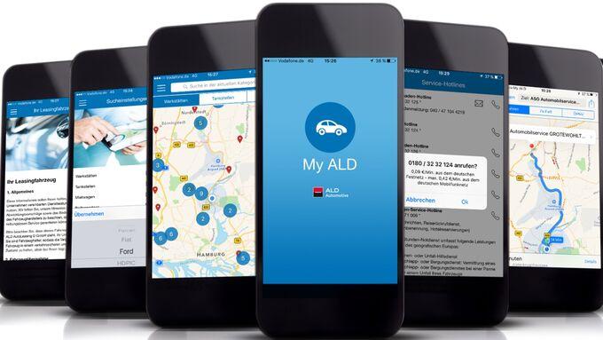 My ALD Service APP ALD Automotive