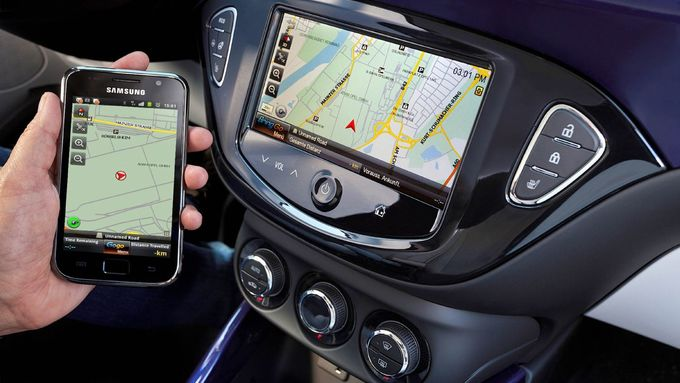 Opel, Handy, Display