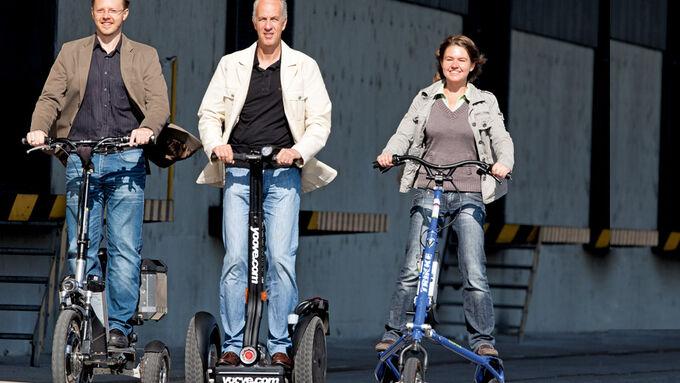 Personal Transporter, Dreimal E-Mobilität