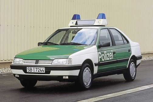 Peugeot 405, 1987