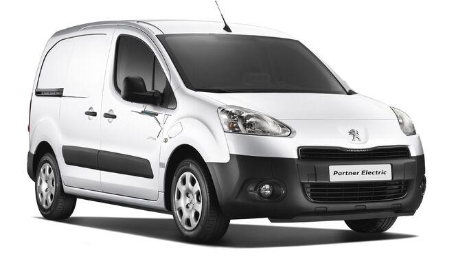 Peugeot Partner Elektroantrieb
