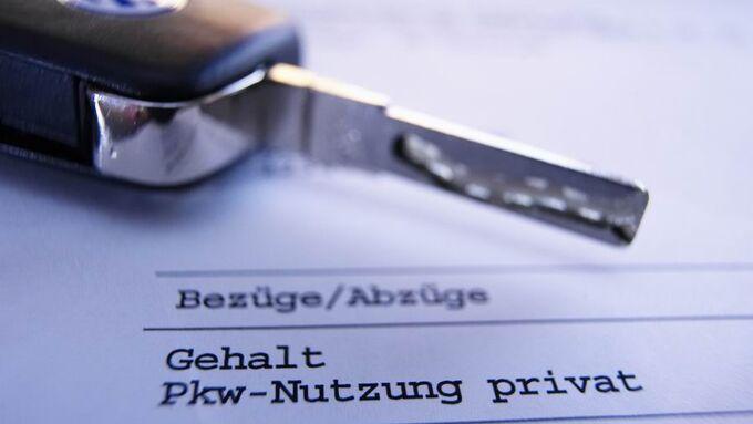 Privatnutzung, ein-Prozent-Regel