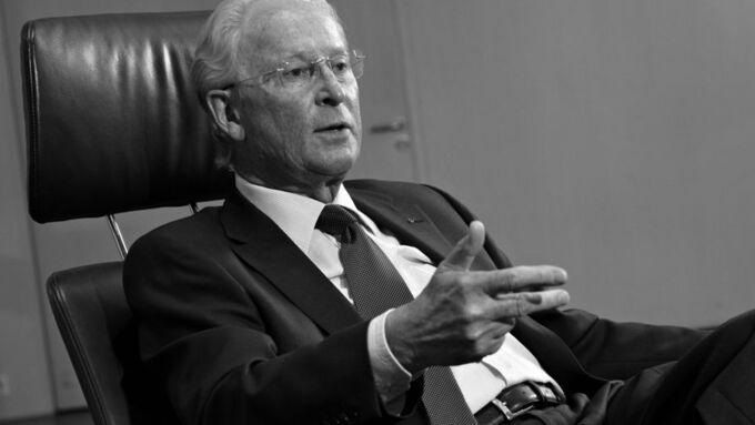 Prof. Jürgen Hubbert, Ex-Daimler-Chrysler-Vorstand