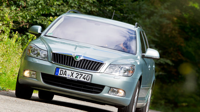 fahrbericht skoda octavia combi 1 6 lpg firmenauto. Black Bedroom Furniture Sets. Home Design Ideas