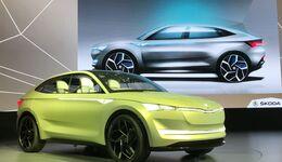 Die neuen E-Autos von Audi, Skoda und VW