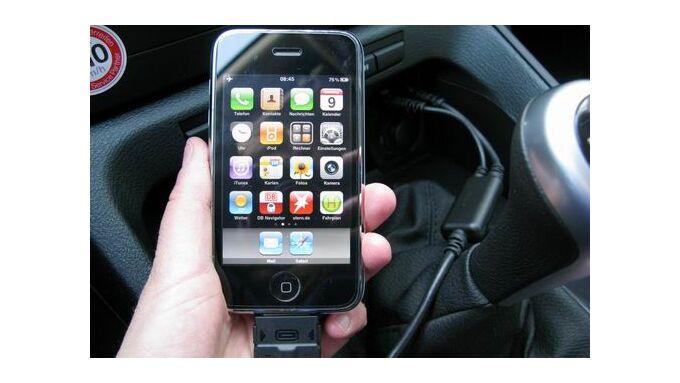 Smartphones ersetzen Navogationsgeräte