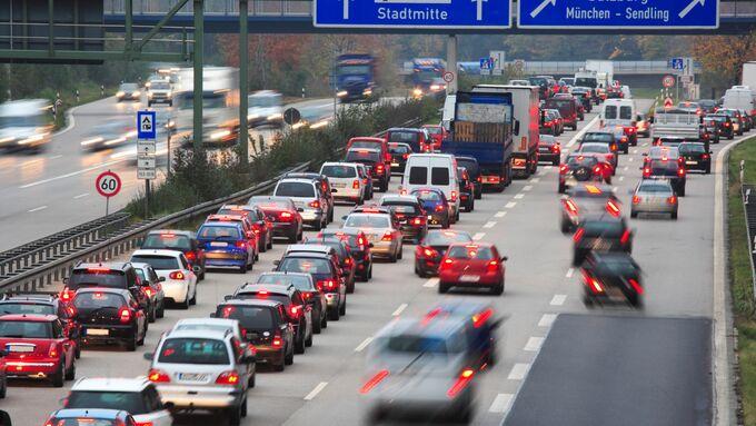 Stau Verkehr