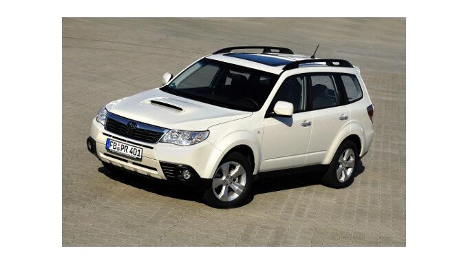 Subaru bietet Diesel zum Benziner-Preis