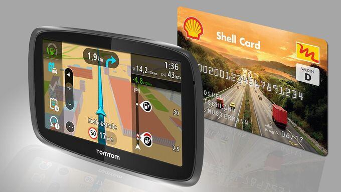 TomTom Shell, Kooperation