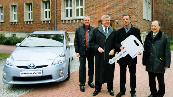 Toyota Prius Plug-in Hybrid für die Bundeswehr