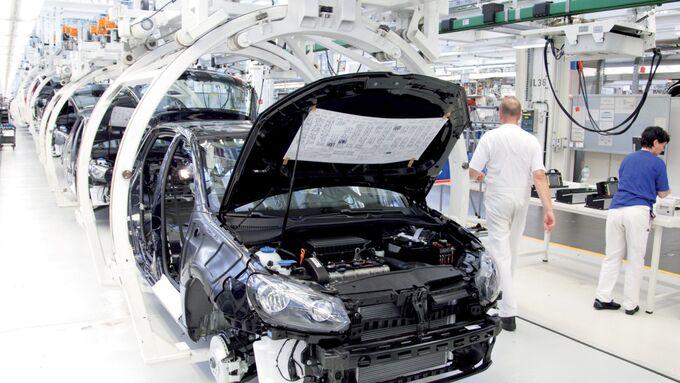 VW Neuzulassungen