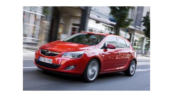 Verkaufsstart für den Opel Astra