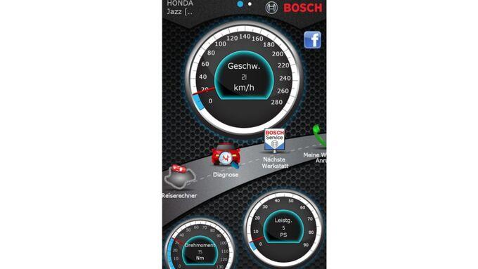 Verkehrserkennung Bosch
