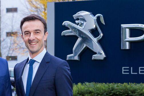 Alberic Chopelin, CEO PSA Deutschland