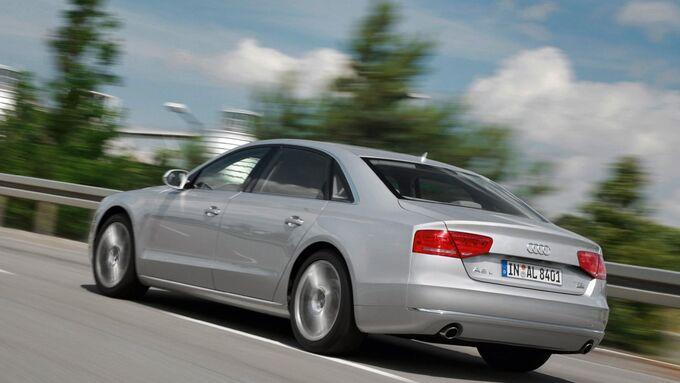 Audi A8 L/Fahraufnahme