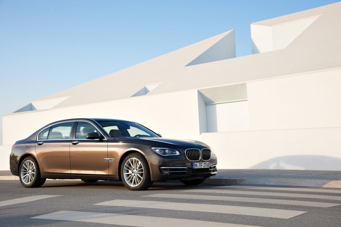 BMW 7er Facelift 2012