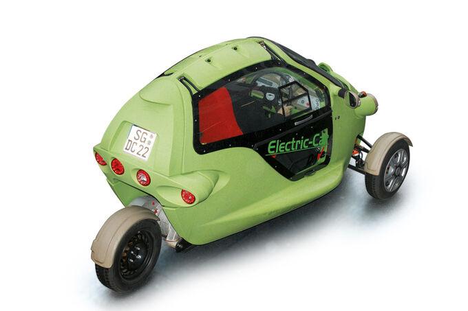 Bizarres Elektromobil, Schweizer Unternehmen, SAM II