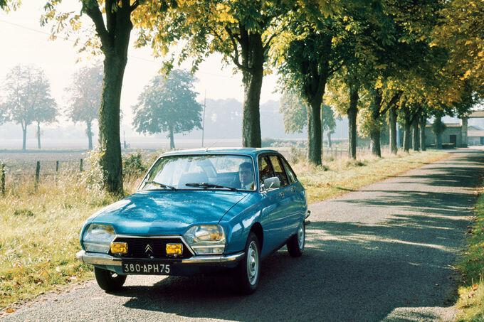 Citroën GS, Front