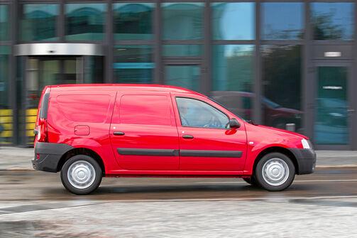 Dacia Logan Express, Laderaum, Klapptüren