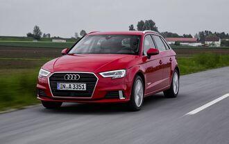 Der Audi A3 g-tron von vorne