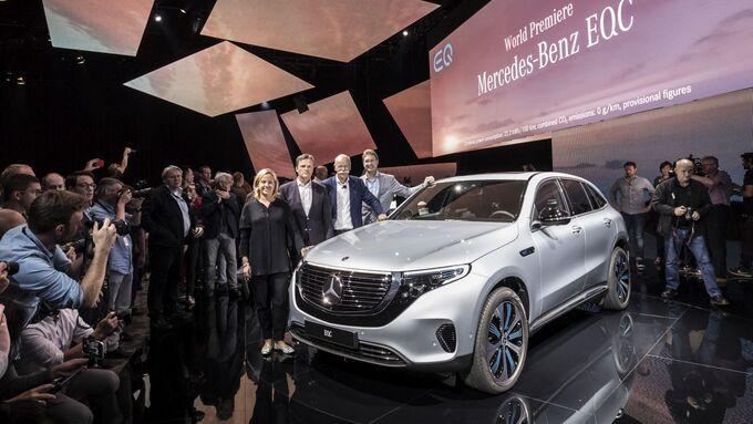 Der neue Mercedes-Benz EQC - Weltpremiere Stockholm 2018.//The new Mercedes-Benz EQC - World Premiere Stockholm 2018
