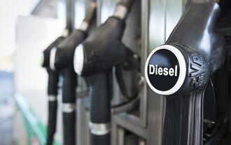 Diesel Tankstelle Zapfsäule
