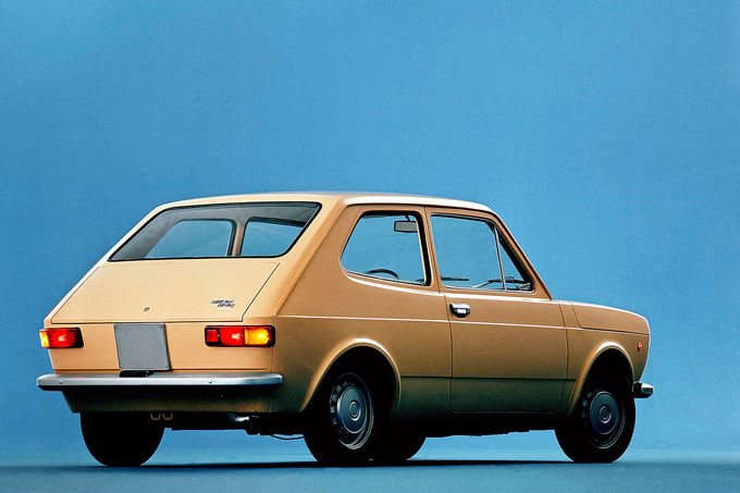 Fiat 127, Heck