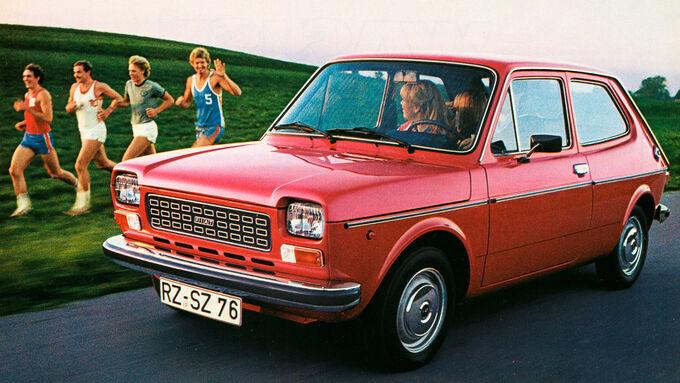 Fiat 127, Werbung