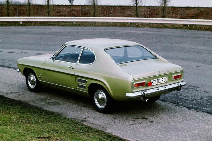Ford Capri, Seitenansicht