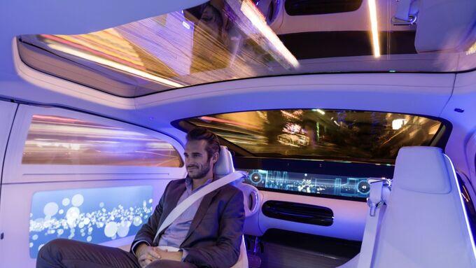 Futuristischer Innenraum
