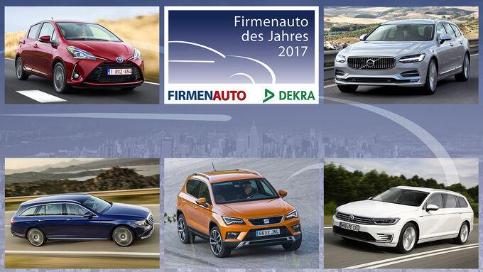 Gewinner Firmenauto des Jahres 2017
