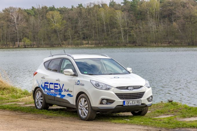 Hyundai ix35 Fuel Cell 2015